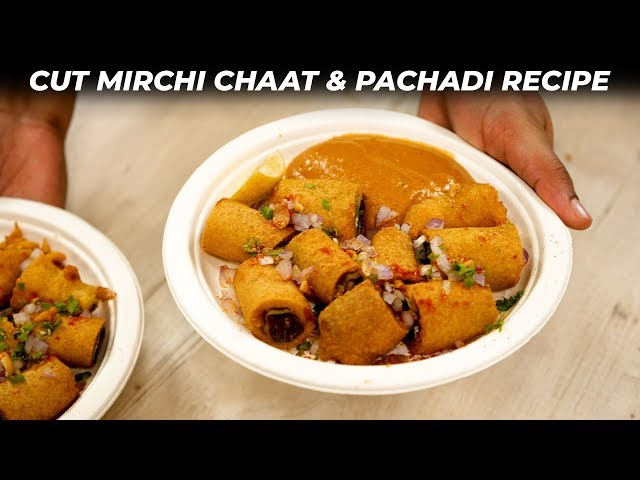 Cut Mirchi Recipe - Evening Snack Street Style Chilly Bajji - CookingShooking