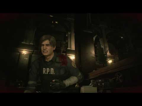 Resident Evil 2 - Police Station Leon A: West Office 1F: Safe Code 9,15,7 Hip Pouch Location (2019)