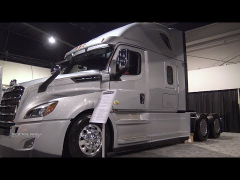 2019 Freightliner Cascadia 126inch BBC with 72inch Sleeper - Walkaround - 2018 Truck World