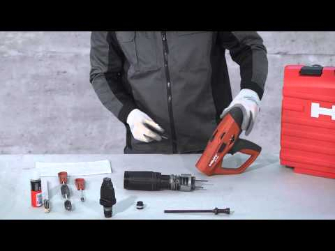 Hilti - How to clean your Hilti DX 460 (English)