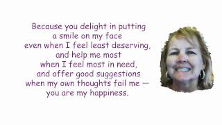 You Are My Happiness (Inspired by Judi) by Ron Dultz