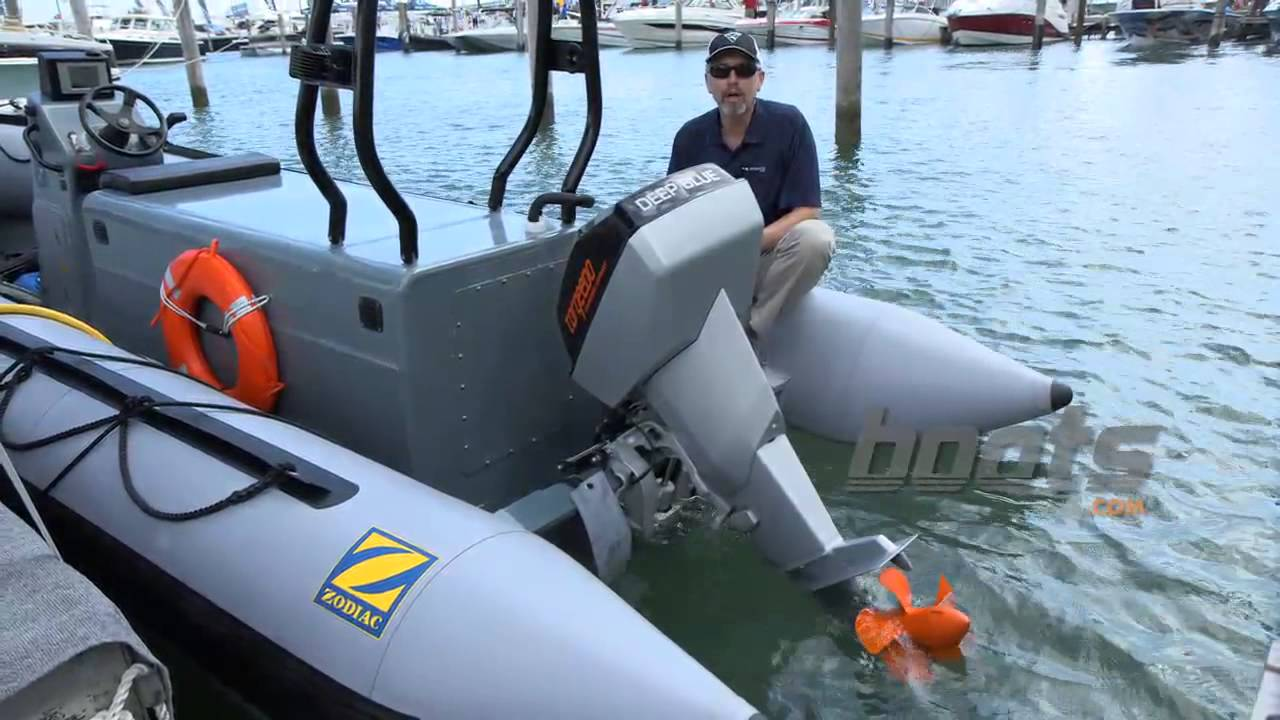 Torqeedo Deep Blue Electric Outboard Wins Award In Miami