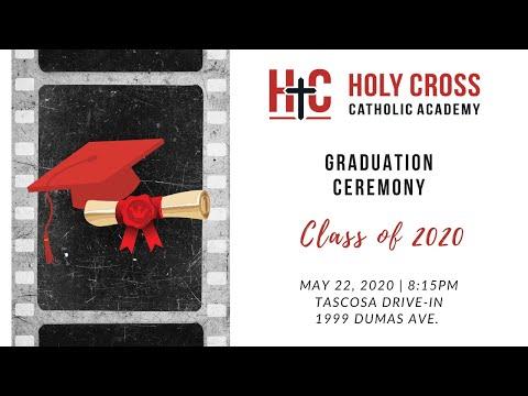 Holy Cross Catholic Academy Graduation Program 2020