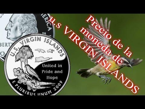 Cuarto de dólar de U.S. Virgin Islands- Precio y detalles- (Distrito y territorios) Nº 5