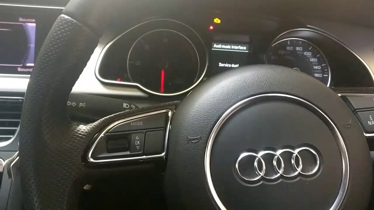 How to Reset Oil Change Service Light 2007-2018 Audi A5 S5