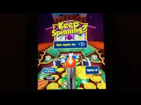 Winning the T and getting the Jackpot in Coin Dozer Casino | Video Game Video
