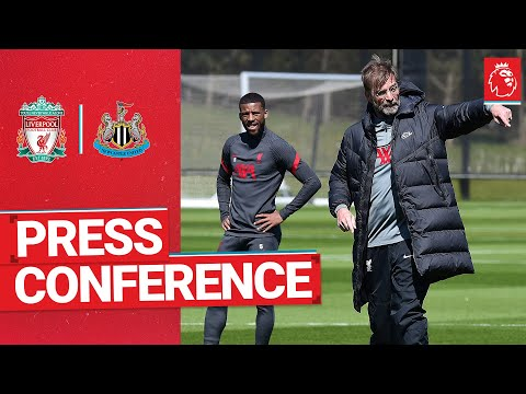Konferensi pers pra-pertandingan Jürgen Klopp |  Newcastle United