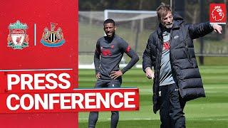Jürgen Klopp's pre-match press conference   Newcastle United