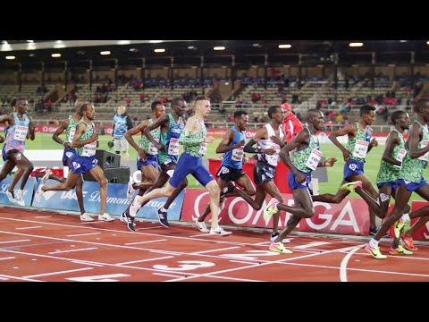Julien Wanders   Record Suisse Du 10'000 M (27'44)   Stockholm 2019