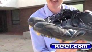 Teen Struggles To Find Super-Sized Shoes