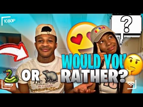 WOULD YOU RATHER?! | COUPLES EDITION 😍
