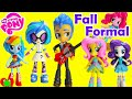 My Little Pony Fall Formal Minis  And Pinkie Pie Switch-a-do Salon video