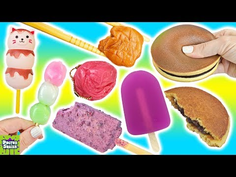 Squishy Food Versus Real Food! Cutting Open Japanese Food Squishy Toys! Doctor Squish