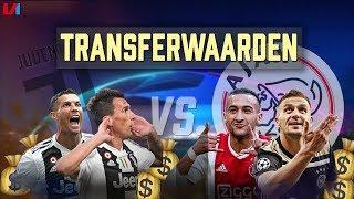 Juve vs. Ajax: Alleen Frenkie en De Ligt Naderen Supersterren Oude Dame