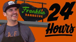 Bon Appetit deputy editor Andrew Knowlton spends 24 hours at Franklin Barbecue starting out at 6:00 am and meeting fans of the restaurant who have been ...