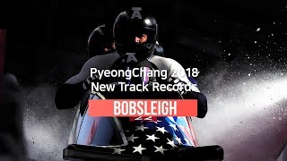 [ENG] PyoengChang 2018 Bobsleigh Track Records