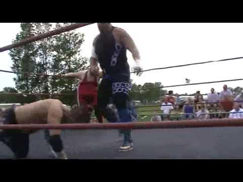 Marc Krieger vs  Superbeast vs  Rik Matrix Pier 6 Wrestling 612013