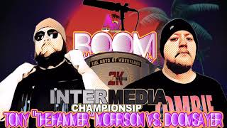 "InterMedia Championship: Tony ""Hammer"" Morrison vs. Doomsayer (Boom At The Beach)"
