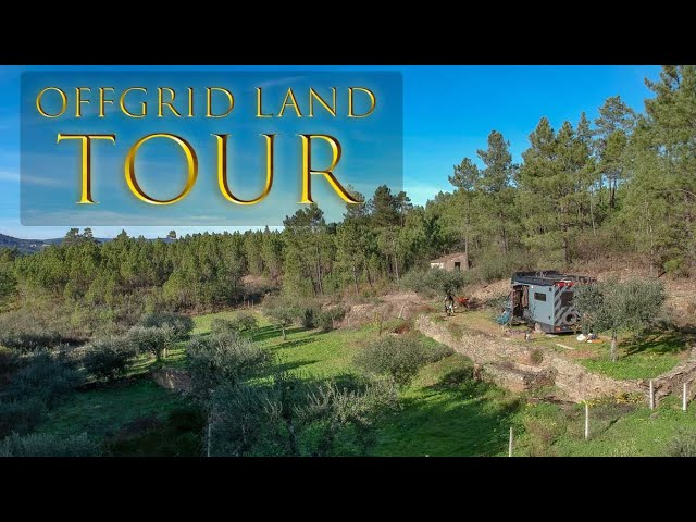 The New Offgrid Land Tour - Nomad's Basecamp.