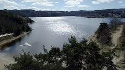 Découverte du lac du barrage de Lavalette