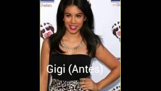 Personajes de Teen  Beach Movie  Antes y Después (2013-2015)