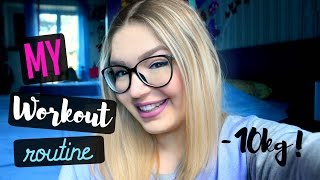 MY WORKOUT ROUTINE! | ilamakeup02♡