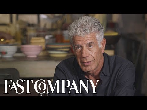 Anthony Bourdain  - Our Last Full Interview | Fast Company