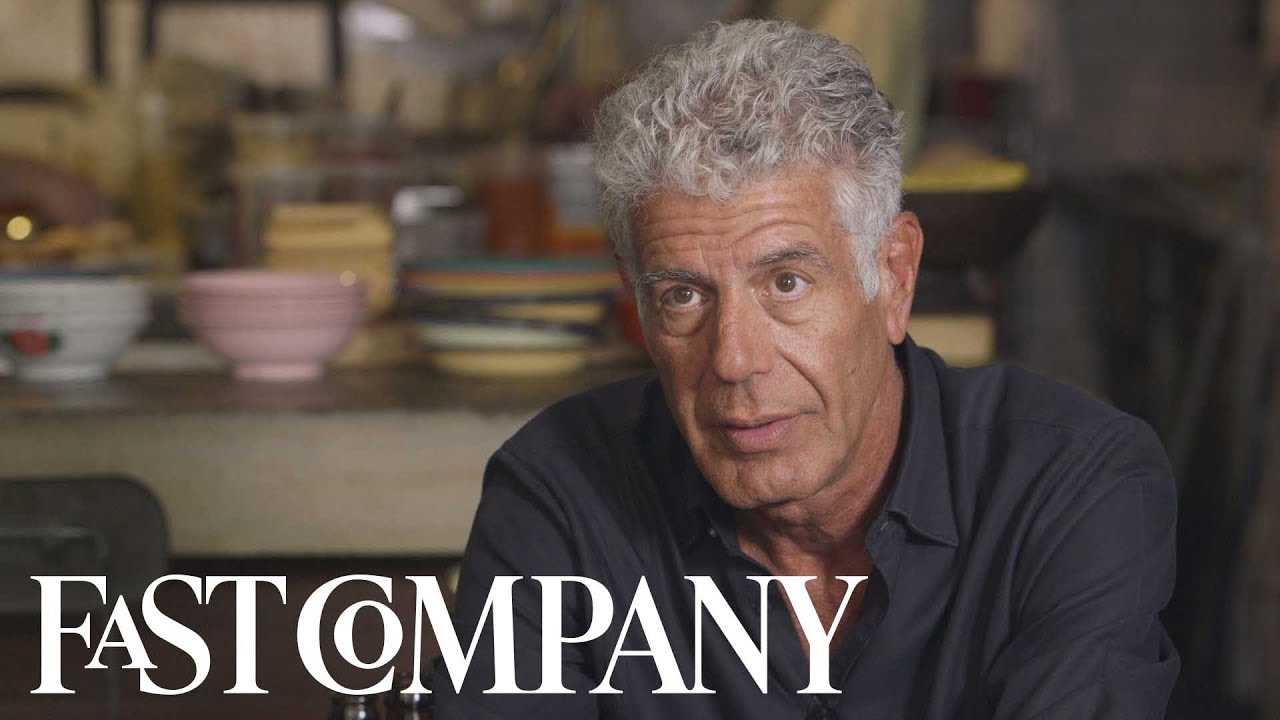 Anthony Bourdain Talks About the Big Break That Changed His Life–at Age 44