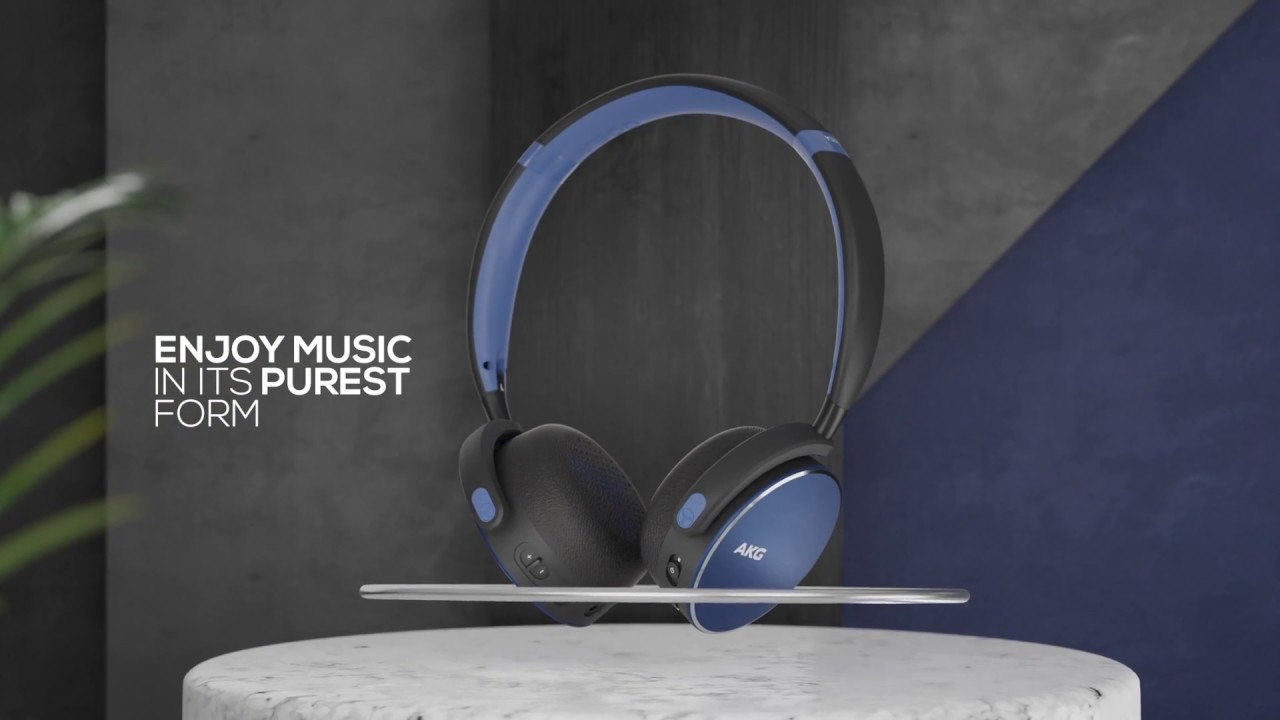 a94115ed26f AKG Y500 Wireless headphones product video - YouTube