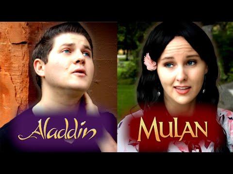 Aladdin x Mulan | Disney Mashup 🏰 | Reflection/Proud of Your Boy | A Cappella