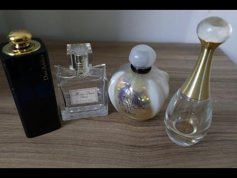Моя парфюмерная коллекция! Часть 2 Christian DIOR
