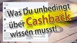 Was Du unbedingt über Cashback wissen musst!