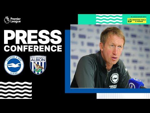 Graham Potter's West Brom Press Conference