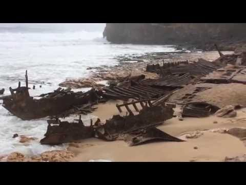 Ethel Wreck exposed August 2016