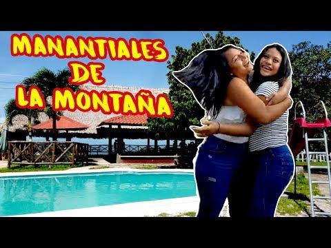 Manantiales de la montaña en Dulce Nombre de María  Chalatenango El Salvador