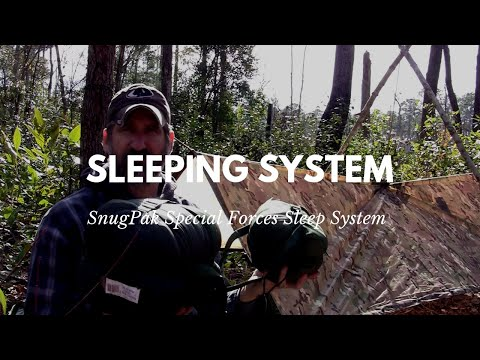 Survival Shelter: Sleeping Bag System