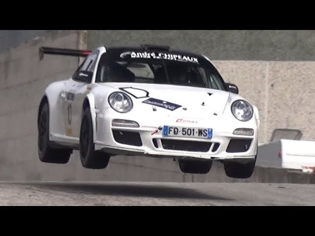 Listen to this 997 GT3 R-GT at Rally Legend!