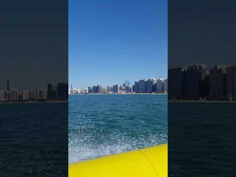 """The Yellow Boats Ride in Abu Dhabi."""