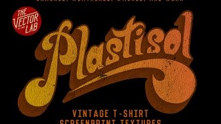 How to Make Vintage T-Shirt Graphics in Illustrator and Photoshop