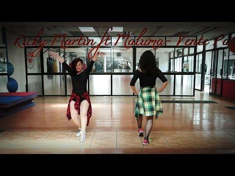 Ricky Martin ft Maluma Vente PaCa Coreografia Zumba Fitness Lucy Zumba Zin