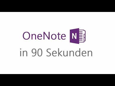 Microsoft Bildung - Erklärvideo: OneNote in 90 Sekunden