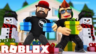ROBLOX CHRISTMAS SIMULATOR / THE CHRISTMAS PRESENT STORM IS COMING!