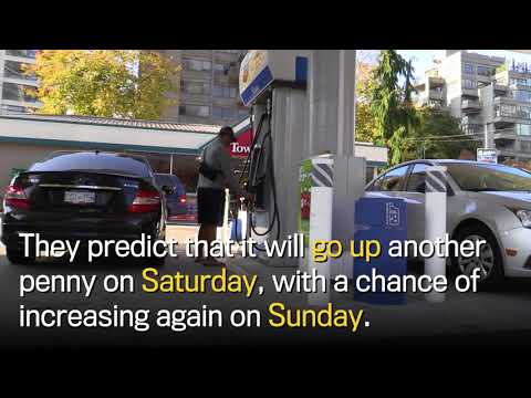 Gas prices spike in Metro Vancouver