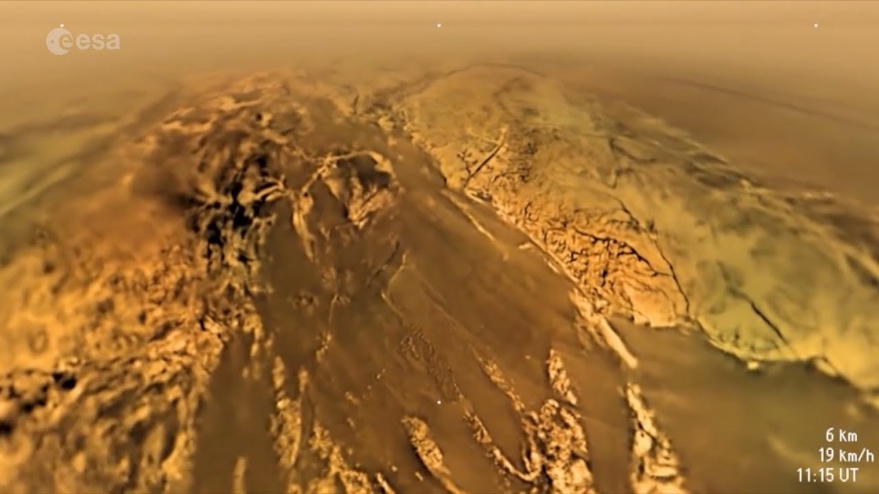 Cassini-Huygens Probe Made History on Titan | Video - YouTube