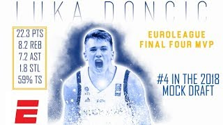 Luka Doncic's 2018 NBA Draft Scouting Video | DraftExpress | ESPN