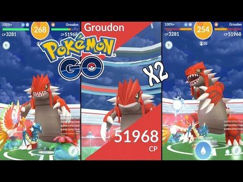 Pokémon GO | FIRST EVER GROUDON RAID BOSS! (Level 5) + BEST COUNTERS! |  Legendary Gym Raids Ep  46