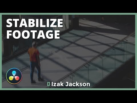 How To Stabilize Shaky Footage In Davinci Resolve