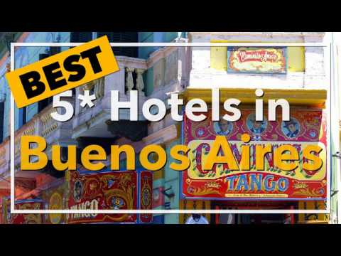 🔴 Best 5 star Hotels in Buenos Aires, Argentina