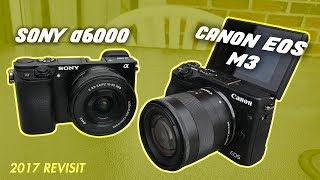 REVIEW: Sony a6000 VS Canon EOS M3 2017