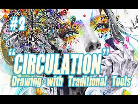 "Painting  ""Circulation"" - Long version Part 2 of 4"